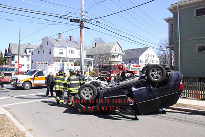 Melrose, MA - MVA, West Wyoming Ave and Trenton Street, 3-27-11