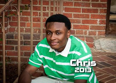 Chris' Final Sr. Portraits