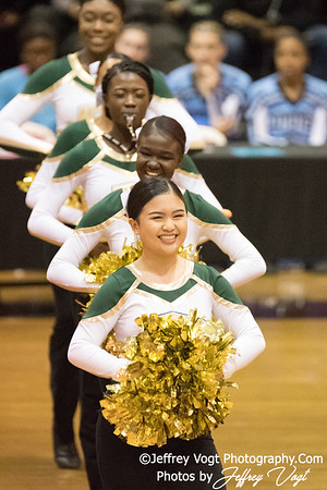 2/3/2018 Kennedy HS at MCPS County Poms Championship Blair HS Division 3, Photos by Jeffrey Vogt Photography with Kyle Hall