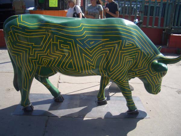 vaca laberinto