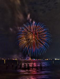 Fireworks Display Kemah 6-29-2012