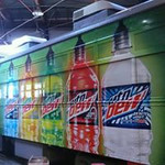 McKinney Avenue Transit Trolley SkinzWrap in Dallas,Texas for Mountain Dew Advertising.jpg