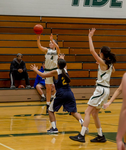 Set three: Vashon Island High School Girls JV Basketball v Aberdeen
