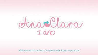 Ana Clara 1 Ano 24-02-18