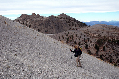 Crater Mountain & South Crater 10/20/07