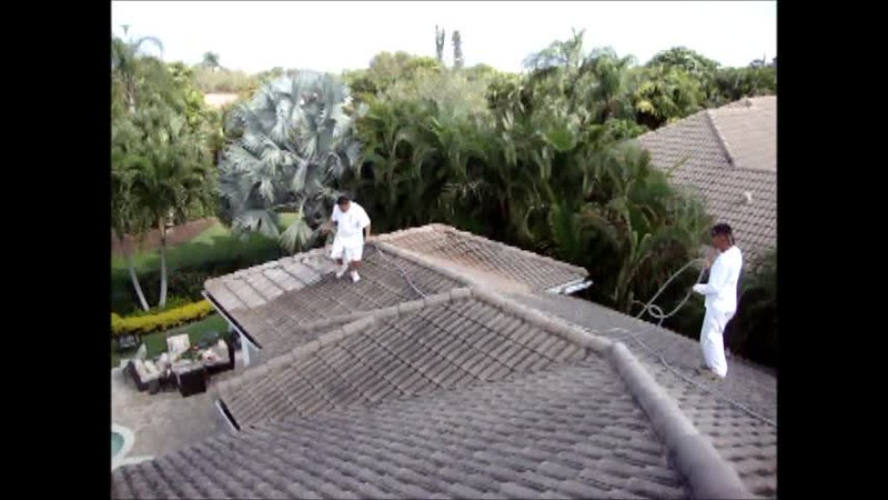 Roof Cleaning the right way.wmv