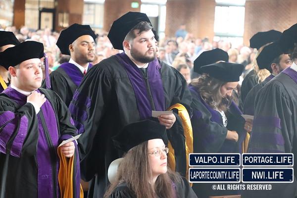 Valparaiso University Graduate School Graduation 2018