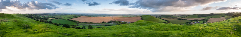Somerset Levels from Condon Beacon