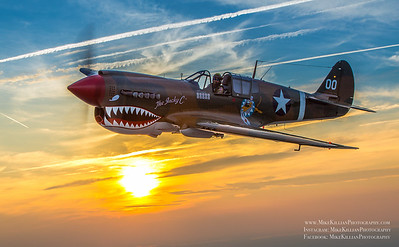 P-40 Sunset New York Air to Air