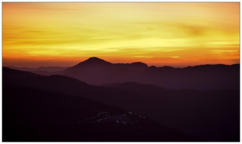 Mountain sunset 2