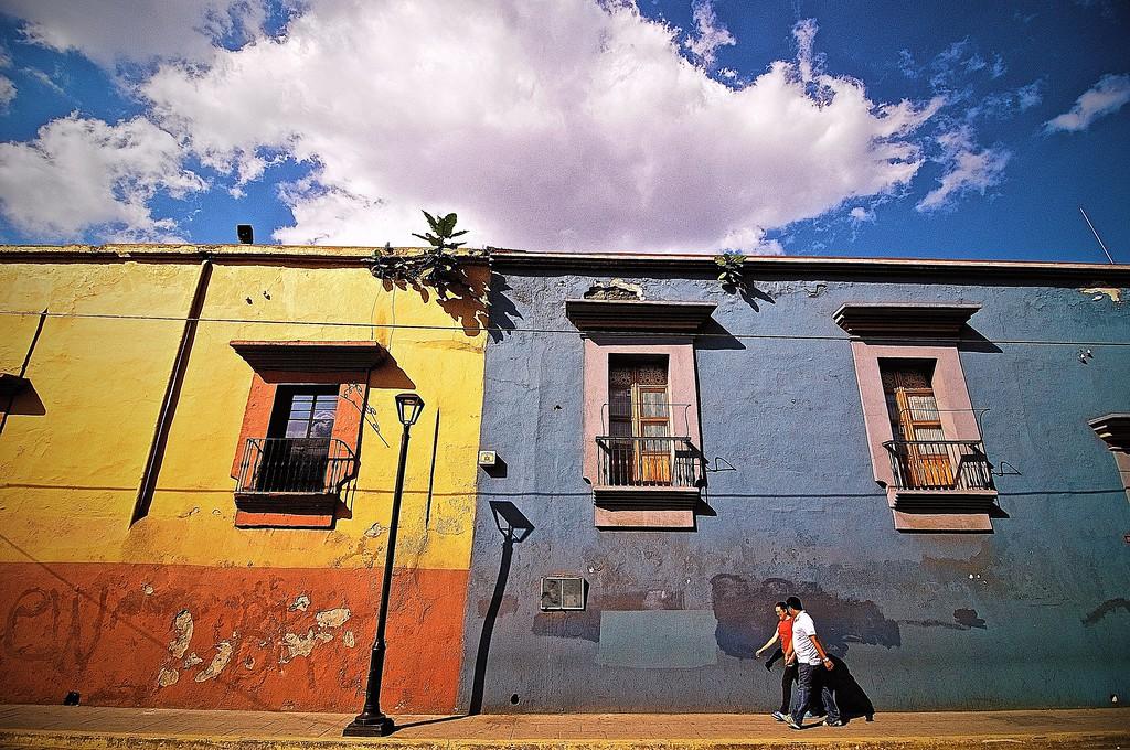 A Stroll Along Calle Porfirio Diaz - Oaxaca, Mexico
