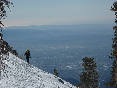 Mt. Baldy, CA - December 23, 2009