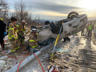 I-81 Accident with Entrapment