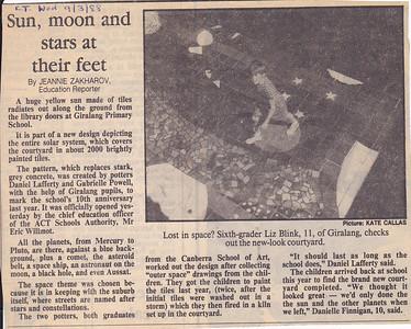19880309 Liz in paper