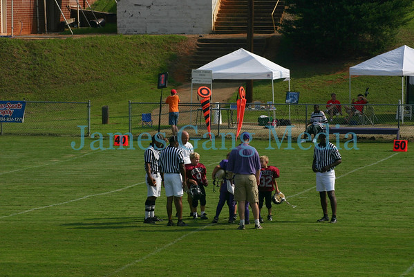 7yo Jr. War Eagles vs Lumpkin - Aug. 26, 2006