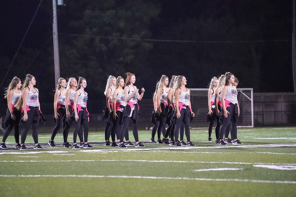 2018-09-13 Pink Panthers Halftime