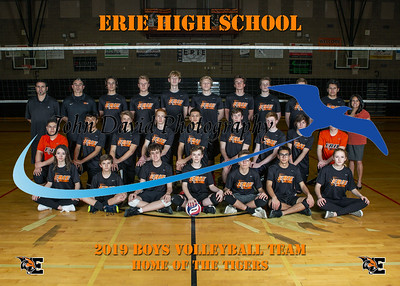 2019 EHS Boys Volleyball Team Pictures