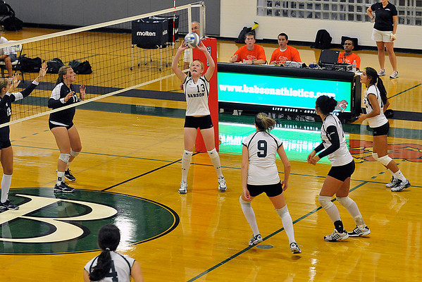 BABSON V-BALL   SELECTED 9.5.2009