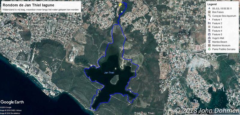 20180706 Rondom de Jan Thiel lagune