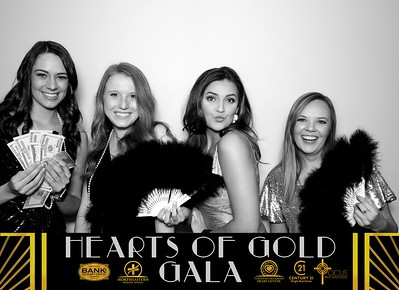 Hearts of Gold Booth 3