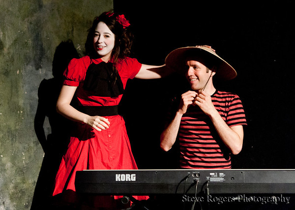 Pgraph sings in French Farce Style May 5, 2012
