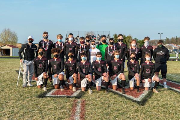 Boys Soccer SENIOR Night Spring 2021