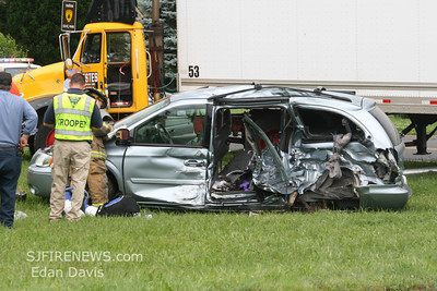 06-22-2009, Commercial MVC, Pittsgrove Twp. Salem County, Parvins Mill Rd. and Alvine Rd.