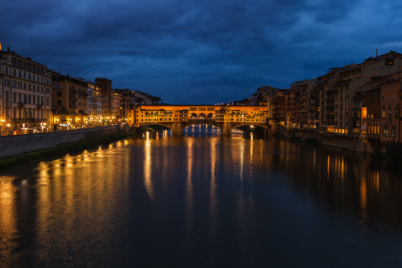 Ponte Vecchio, Florence. Tuscany, Italy.