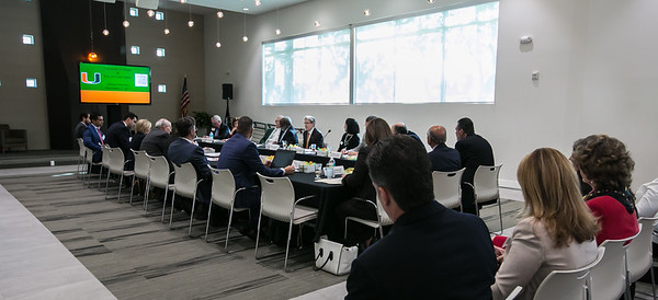 Annual Meeting of the City of Coral Gables & the University of Miami - November 2, 2017