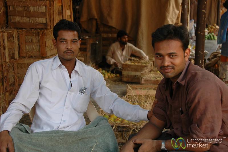 Vendors at Crawford Market - Mumbai, India