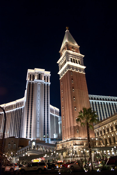 The Venetian from The Strip