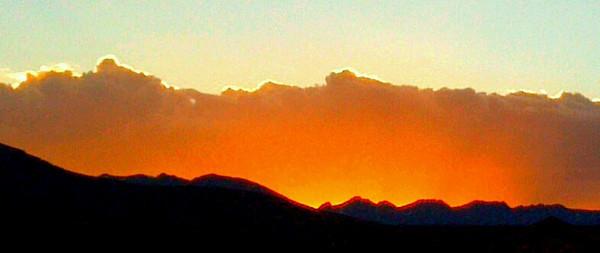 Not a fire, but a Colorado Rimfire Sunset.  Gorgeous.