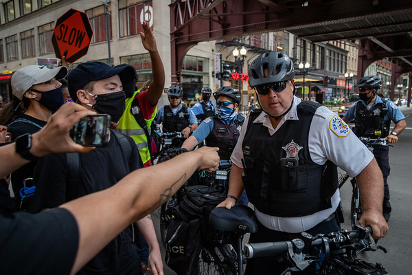 Protesting Secret Police in Chicago - July 20th 2020