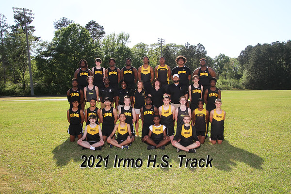 2021 Irmo boys varsity track