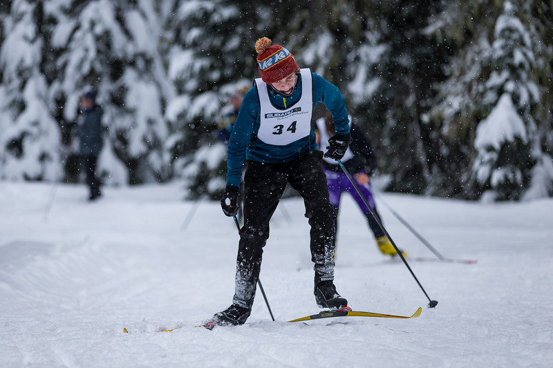 Mt. Hood Meadows High School Skiathlon