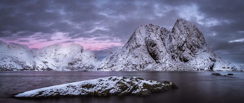 Sunrise over Lofoten
