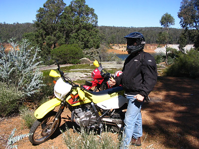 Murray River ride with Gary