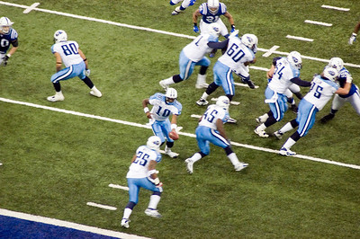 Colts vs Titans - December 30, 2007