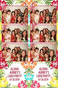 7/28/19 - Audrey's Luau Party