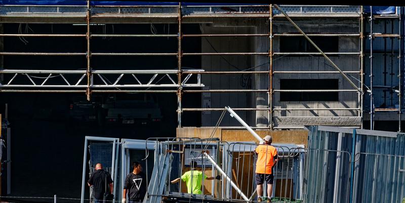 Building progress 145c. At 47 Beane St. Gosford. October 2018.