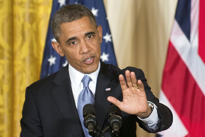 """. <p><b> NBC News is reporting that President Obama has known for years that his signature Affordable Care Act was � </b> <p> A. Going to cause millions of Americans to lose their current health insurance  <p> B. A thinly veiled scheme to redistribute income  <p> C. All of the above <p><b><a href=\'http://investigations.nbcnews.com/_news/2013/10/29/21222195-obama-administration-knew-millions-could-not-keep-their-health-insurance?lite\' target=\""""_blank\"""">HUH?</a></b> <p>   (AP Photo/J. Scott Applewhite)"""