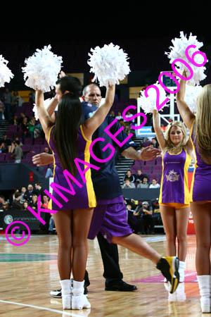 Kings Vs Razorbacks 21-10-06 -  Pre-Game, Cheerleaders & 1/2 Time Entertainment