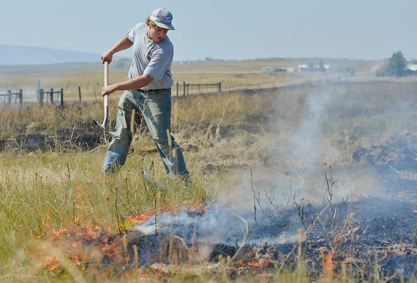 Sheridan Gun Club Grass Fire