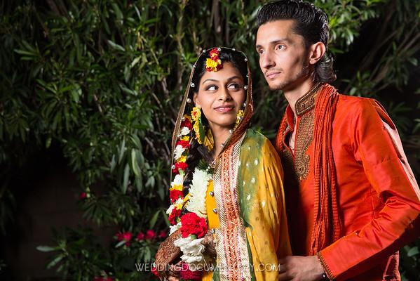 Shireen + Adil Mehendi