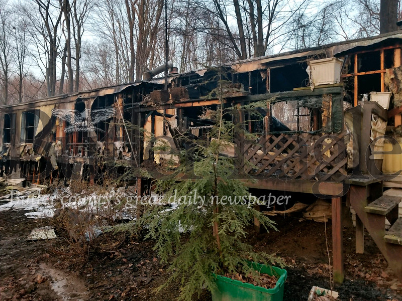 Connoquenessing Township Home Fire
