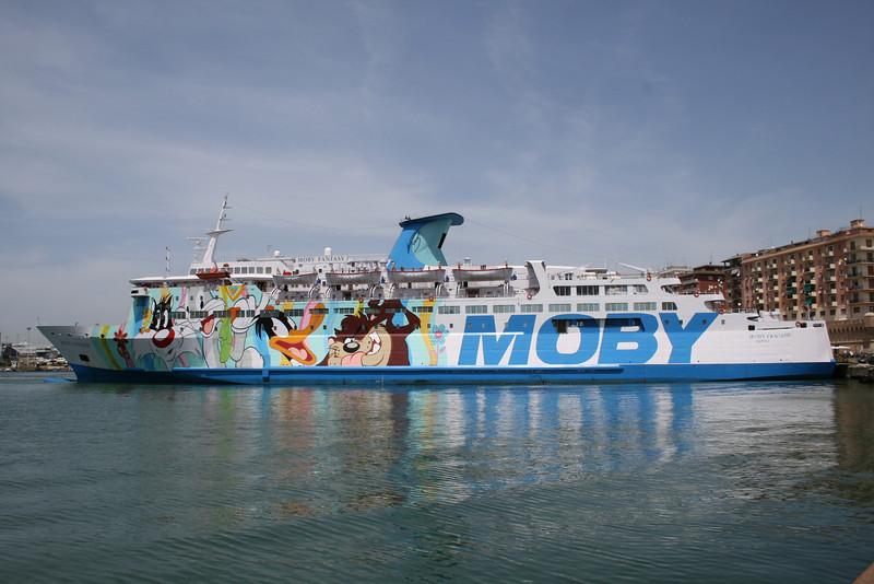2008 - F/B MOBY FANTASY in Civitavecchia.