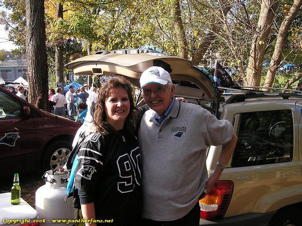 Panthers vs. Jets November 13th 2005