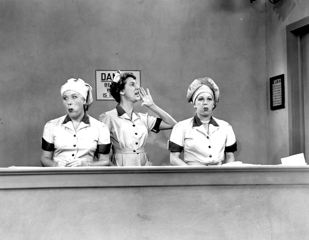 ". ""I Love Lucy\""  Los Angeles Daily News file photo"