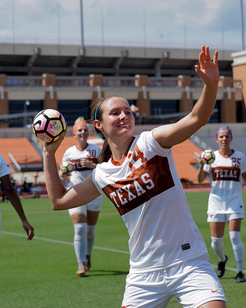 University of Texas Soccer vs. Cal Santa Barbara 9.18.2016