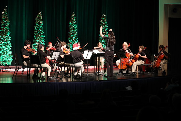 Middle School Orchestra Winter Concert